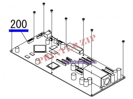 Материнская плата форматер 2132732 для Epson Stylus Pro 4900 купить в Питере